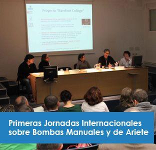 Primeras Jornadas Internacionales sobre Bombas Manuales y de Ariete