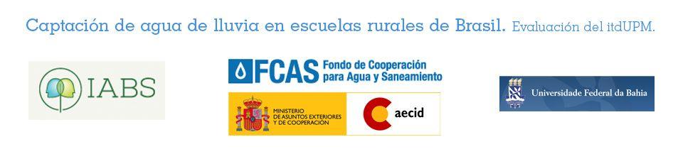 Proyecto Cisternas. itdUPM IABS AECID Fondo del Agua