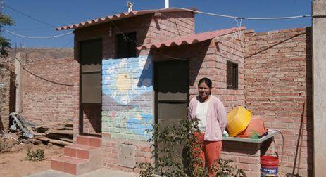 Baño Ecológico Seco en una vivienda del distrito 9 de Cochamamba.