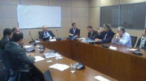 Reunión con el Ministerio de Medio Ambiente de Brasil