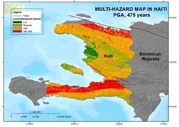 Riesgo sísmico en Haití