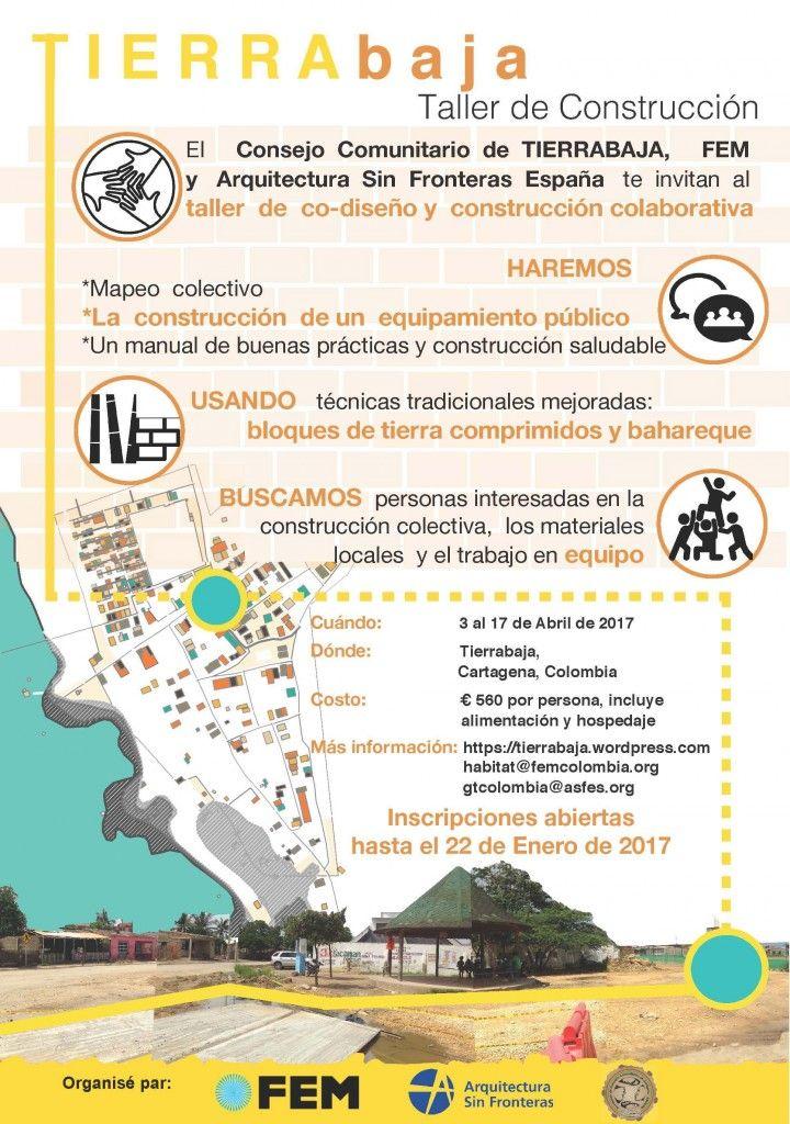 Presentación de taller de co-diseño y construcción colaborativa en Cartagena de Indias