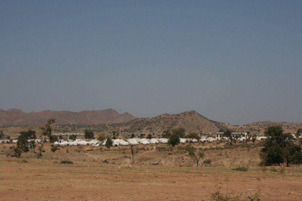 Campo de refugiados en la región de Shire (Etiopía)