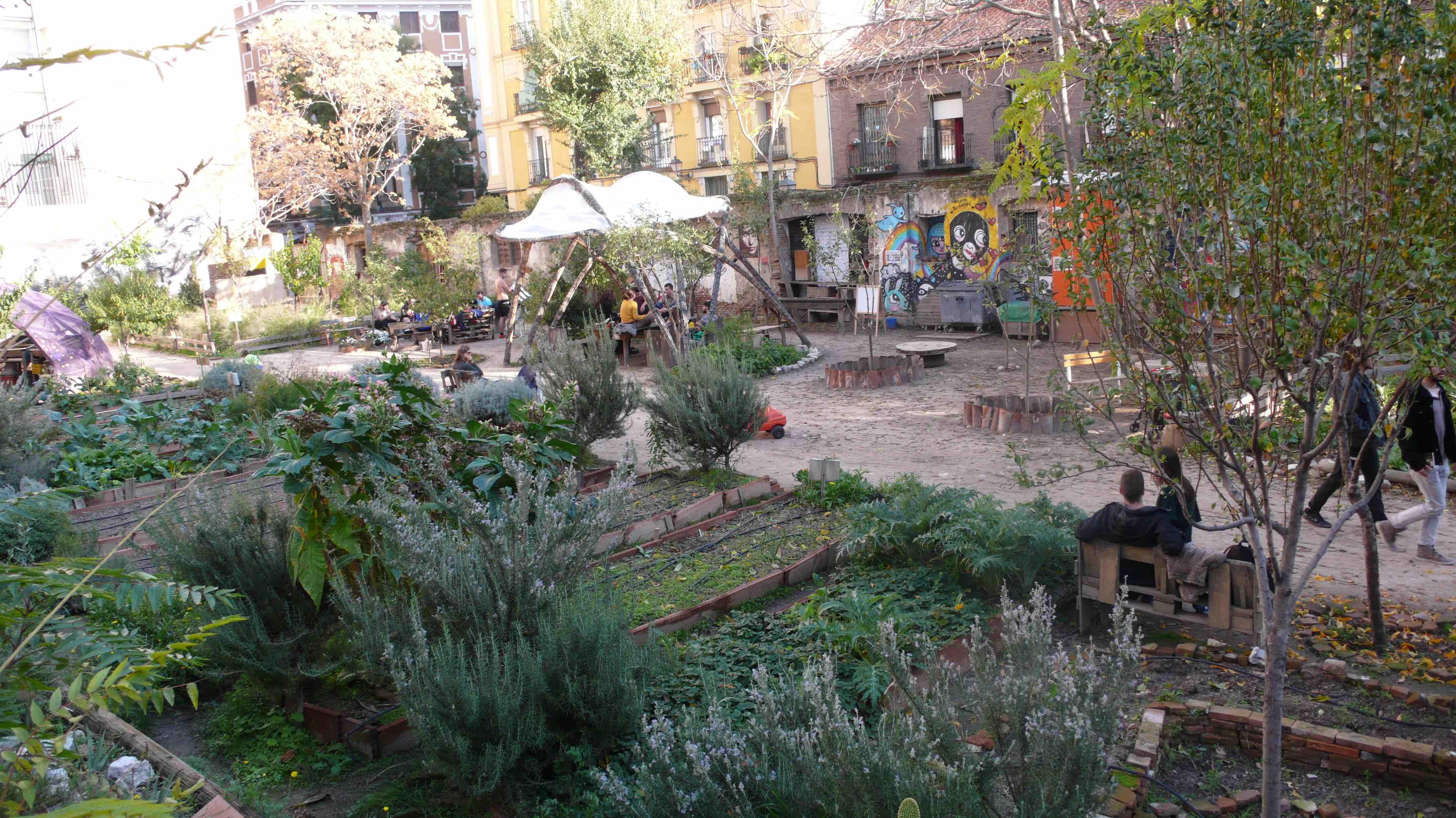 Huerto Esta es una Plaza Madrid