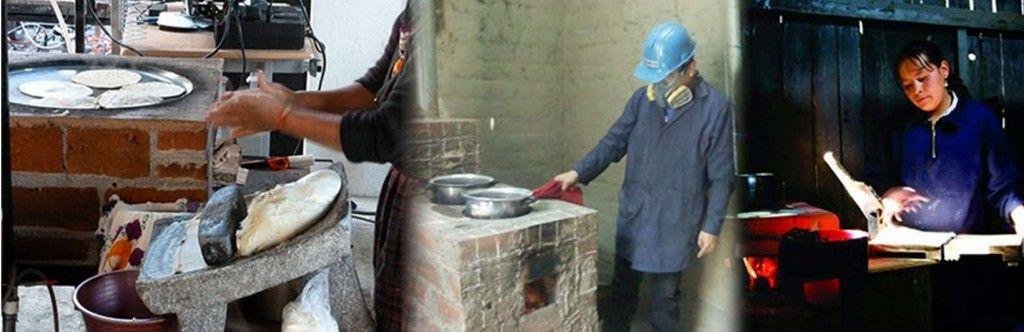 Modelos de cocinas mejoradas en casas en Latinoamérica