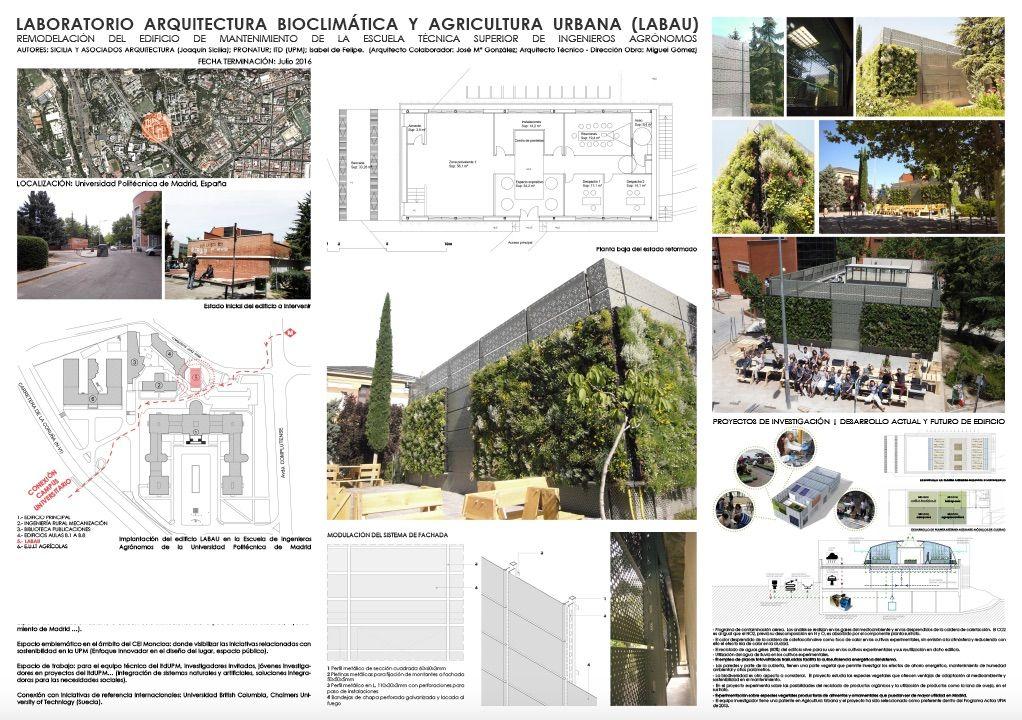 poster premio edificio itdUPM