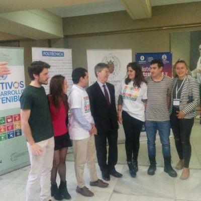 Alumnos del #masterETD con Jeffrey Sachs