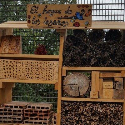 Hogar de Insectos. Imagen de Agrohuerto.com