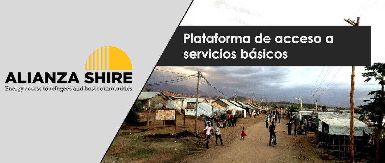 Plataforma de acceso a servicios básicos